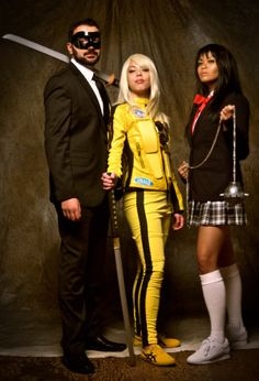 kill bill gogo yubari uniform cosplay costume kill bill party pinterest. Black Bedroom Furniture Sets. Home Design Ideas