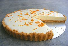 Healthy Orange Cheesecake
