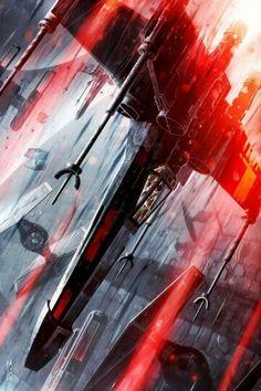 X-wing v TIE