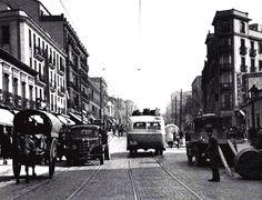 La calle de Bravo Murillo en 1960