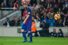 The FC Barcelona player Lionel Messi from Argentina during the La Liga match between FC Barcelona vs Granada CF at the Camp Nou stadium on October 28...