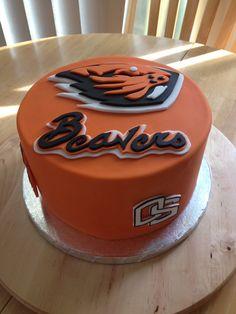 Oregon State University Beaver Cake