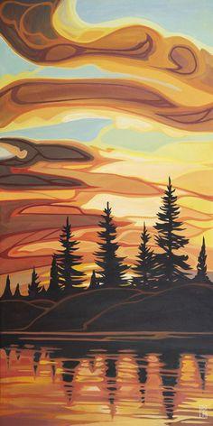 Landscape Art, Landscape Paintings, Acrylic Paintings, Art Gallery, Space Gallery, Art Painting Gallery, Indigenous Art, Native American Art, Native Art