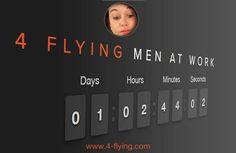 Solo un giorno #4flying per scoprire che cosa succede! #novità #sito