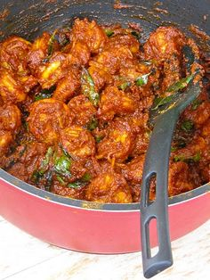 Spiced, Aromatic Prawn [Shrimp] Roast
