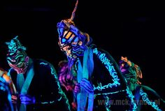"""The #spectacle """"DEEP TRIP"""", Art #Color #Ballet #Cracow, 2011 #festival #open #stage #tarnow #poland #dance #art #moscice #centre #theater #spectacle #bodypainting"""