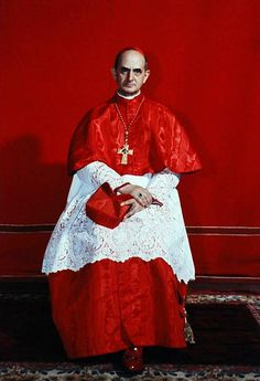 Saint of the Day – 26 September – Blessed Pope Paul VI Catholic Saints, Roman Catholic, Agnes Moorehead, Papa Pio Xi, Pope Costume, Catholic Cardinals, Juan Pablo Ii, Religion Catolica, Medieval Clothing