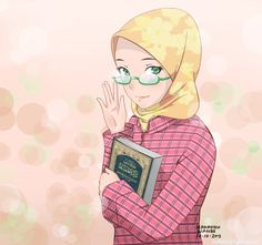 Hijab kemeja by hakimizu.deviantart.com on @deviantART