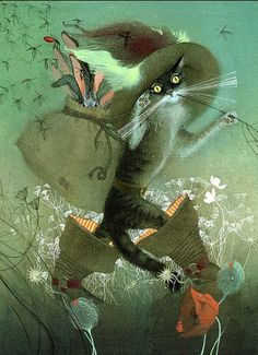 Puss 'n Boots by Nadezhda Illarionova