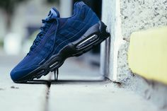 "Nike Air Max 95 ""Obsidian & Black"""