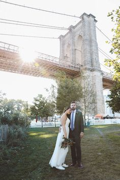 Heather and Braque booked our Plus elopement package which includes photos of the wait and ceremony plus photos at an additional location. City Hall Wedding, Wedding Venues, Wedding Photos, Brooklyn Bridge Park, Park Weddings, Pop Up, Getting Married, Nyc, Couples