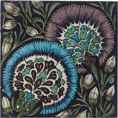 William De Morgan A Large Persian Tile, circa 1890 /BONHAMS