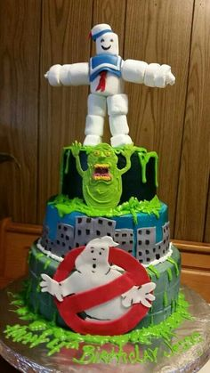 Ghost busters Cake