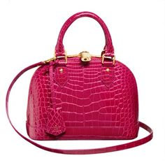Louis Vuitton 2013 early spring ALMA Rose red embossed handbag
