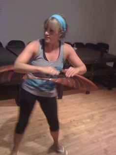 experience of trying a hula hoop class