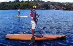 Ta'al Touring Stand Up Paddleboard Plans Marine Plywood, Plywood Boat, Sup Stand Up Paddle, Offshore Wind, Standup Paddle Board, Sup Surf, Learn To Surf, Boat Building, Building Plans