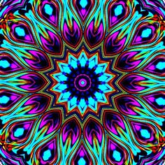 https://flic.kr/p/2LUr7U | Kaleidoscopes 10 | Created in the Gimp - linux.