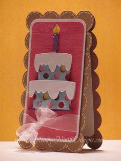 Card. ll. Birthday card idea