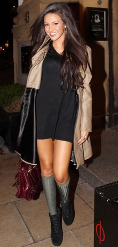 Michelle Keegan (Tina) _ so much more beautiful in real life. Will miss you on the street!