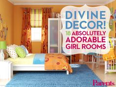 Looking for inspiration to decorate your daughter's room? Tour 18 creative and fun girls' bedroom ideas.