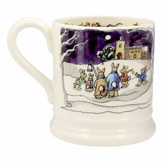 Emma Bridgewater Winter Scenes Half Pint Mug