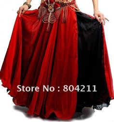 free shipping !fashion/High Quality/NEW Sexy belly dance Costume skirt 2 layers with 2 side slits skirt 11 colors(Without Belt) on AliExpress.com. $ 29.99