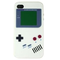 Cool Nintendo Game Boy Gameboy Silicone Case For iPhone 4 4G