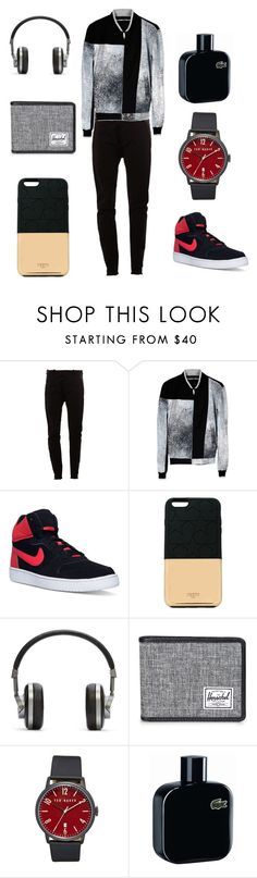 """""""Style11"""" by thatluxboy ❤ liked on Polyvore featuring MASNADA, Kenzo, NIKE, Ports 1961, Master & Dynamic, Herschel Supply Co., Ted Baker, Lacoste, men's fashion and menswear"""