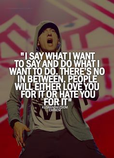 Eminem Quotes From Songs About Love