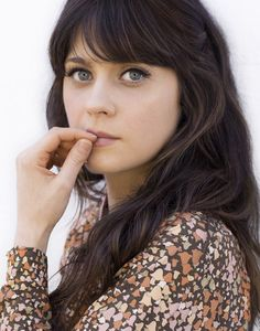 This image says it all. Zooey Deschanel personifies old-school beauty, charm, talent and DIY. I adore her!