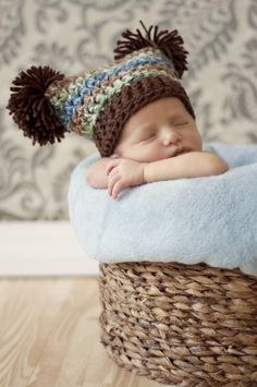 Adorable baby hat.