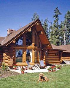 75 Best Log Cabin Homes Plans Design Ideas. Search for your dream log home floor plan with hundreds of free house plans right at your fingertips. Looking for a small log cabin floor plan? Latest House Designs, Cool House Designs, Modern House Design, Small Log Cabin, Log Cabin Homes, Log Cabins, Log Cabin Floor Plans, Cabin Plans, Log Home Plans