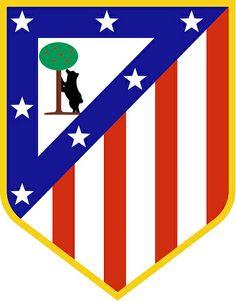 Club Atlético de Madrid, S.A.D.   Country: Spain. País: España.   Founded/Fundado: 1903/04/26. Badge/Escudo.