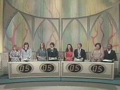 The Newlywed Game...loved watching this show!
