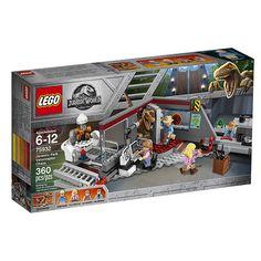 LEGO Jurassic World Jurassic Park Velociraptor Chase (75932)