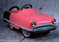 1950 Pink Pedal Car