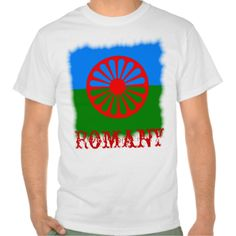Official Romany gypsy flag T Shirt