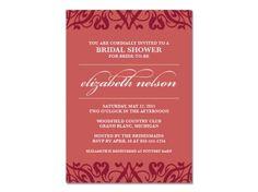 Liz Bridal Shower Invitation