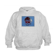 Confederate Military Skull Hoodie on CafePress.com