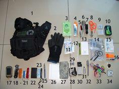 Geocaching bag example