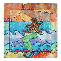 Sunset Mermaid Beach Ocean Shower Curtain by CafePress - White by CafePress, http://www.amazon.com/dp/B00D5XJNU2/ref=cm_sw_r_pi_dp_Su2Asb1X2XWDG