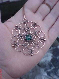 Wire Jewellery mandala