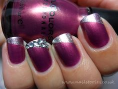 Nail Stories: Kismet Elated gets a French Diamante twist