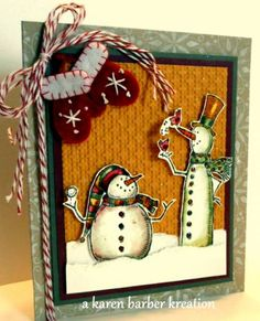 CC347 -NELSON MEETS NORMAN by Karen B Barber - Cards and Paper Crafts at Splitcoaststampers