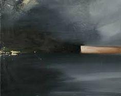 x Ornulf Opdahl, Goksoyr, , cm Fantasy Paintings, Seascape Paintings, Landscape Paintings, Abstract Landscape, Abstract Art, Dark Landscape, Muse Kunst, Muse Art, Art For Art Sake
