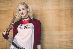 Steampunk Harley Quinn & fantasy photoshoot from Lincoln Asylum Steampunk Festival. Retro, Vintage, Cosplay, Cyberpunk & Steampunk inspired costumes & design.
