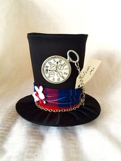 Tiny Top Hat: The White Rabbit  Alice in Wonderland Through