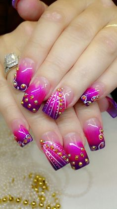Sweet and sour nails.