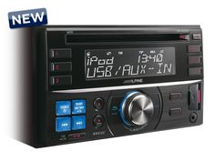 Alpine CDE-W233R - 2-DIN CD Receiver with USB and iPod Controller