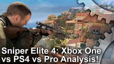 [Digital Foundry] Sniper Elite 4 comparison XBO/PS4/PS4 PRO [video] [link] #Playstation4 #PS4 #Sony #videogames #playstation #gamer #games #gaming
